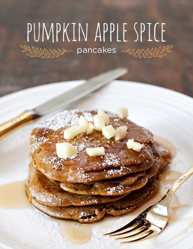 Pumpkin Apple Spice Pancakes Recipe