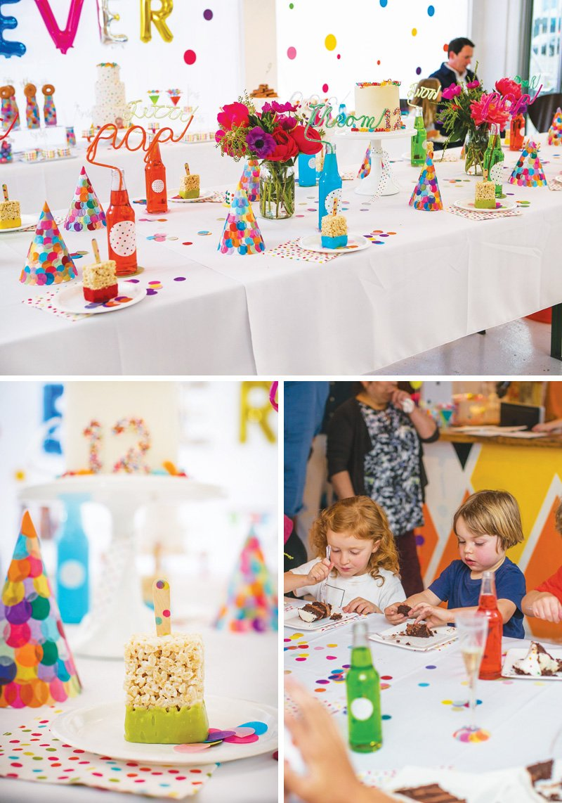 rainbow-polka-dot-tablescape