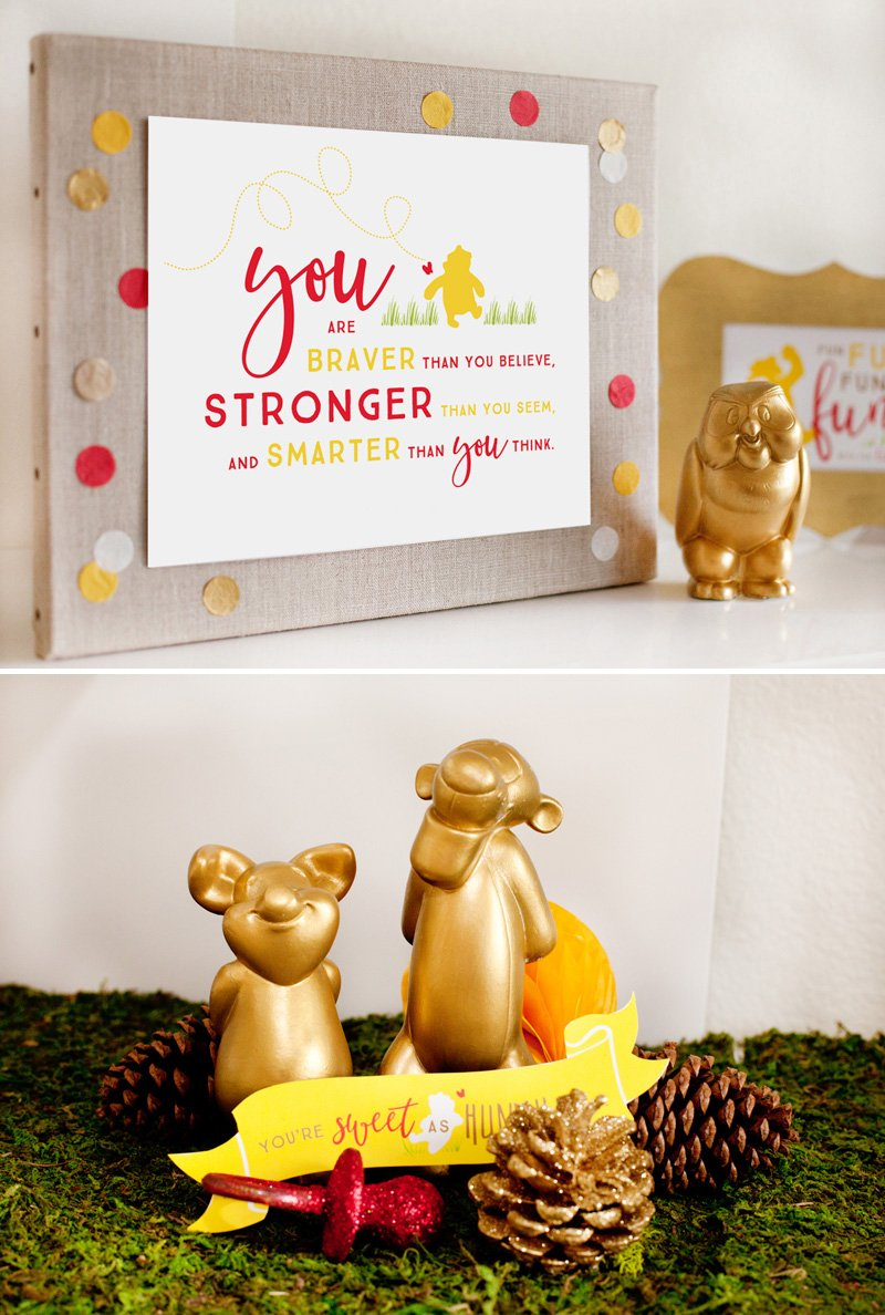 Winnie the Pooh Brave Quote - Free Printables from HWTM