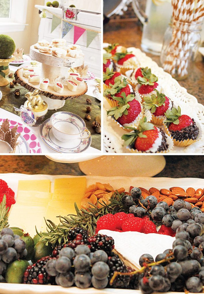 woodland party food ideas