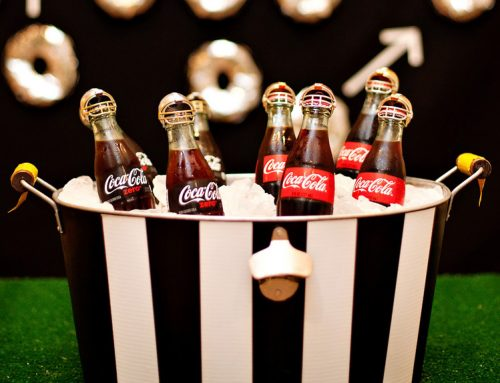 Football Referee Beverage Tub + Helmet Bottle Toppers