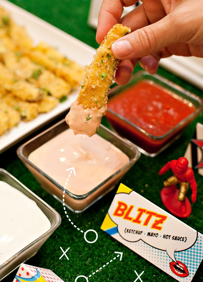 Game Day Dipping Sauce Idea - Blitz