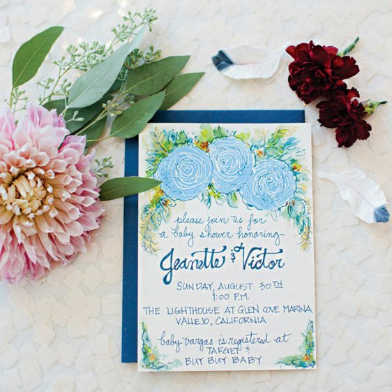 Gorgeous Boho Chic Baby Shower (with a hint of Glam!)