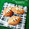 Game Day Dessert Recipe - Football Hand Pies