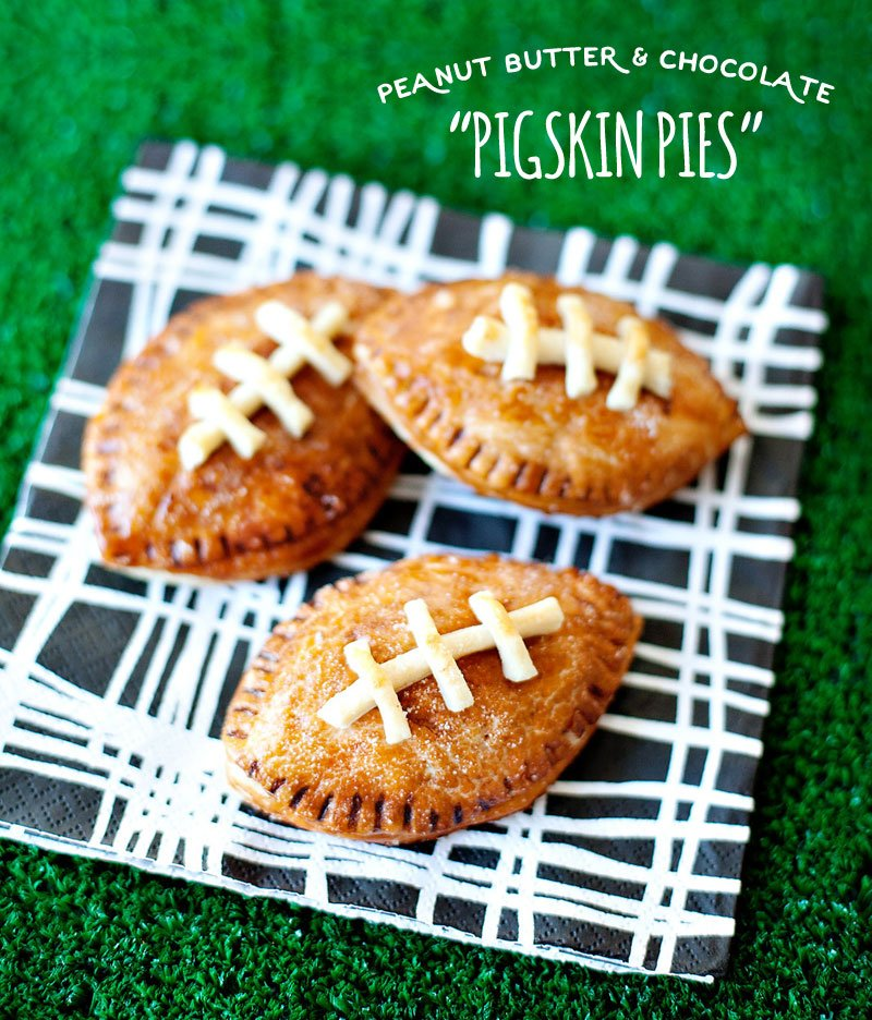Game Day Dessert Recipe - Football Hand Pies