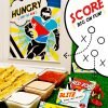 Free Printables - Football Pop Art Sign & Sauce Labels