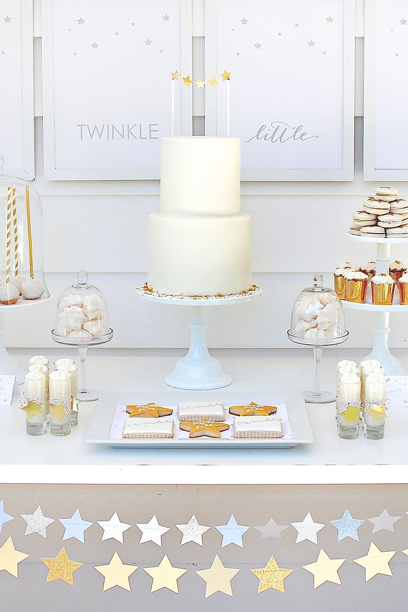 twinkle sprinkle baby shower