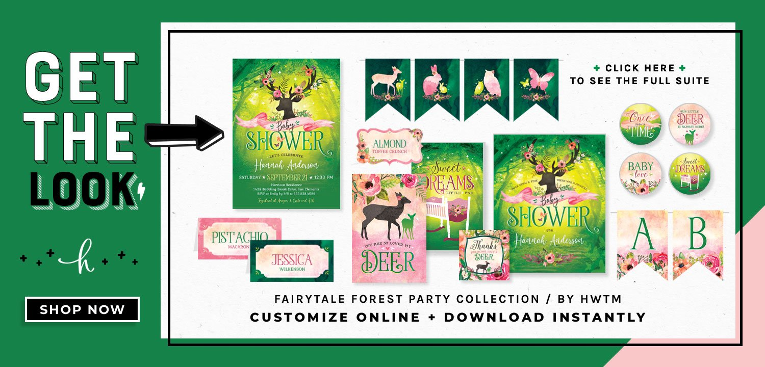 Fairytale Forest Printables