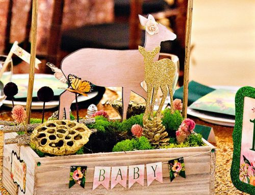 Fairytale Forest Woodland Baby Shower Event