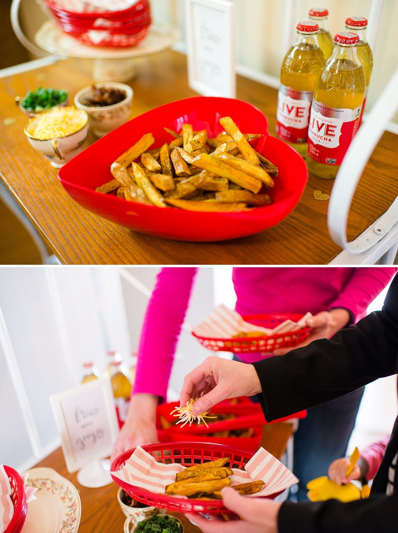 Party French Fry Station