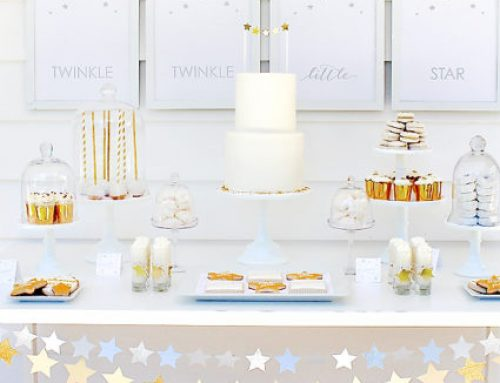 "Sparkly & Chic ""Twinkle Sprinkle"" Baby Shower"