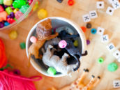 Kids Party Activity - Animal Necklaces and Bracelets