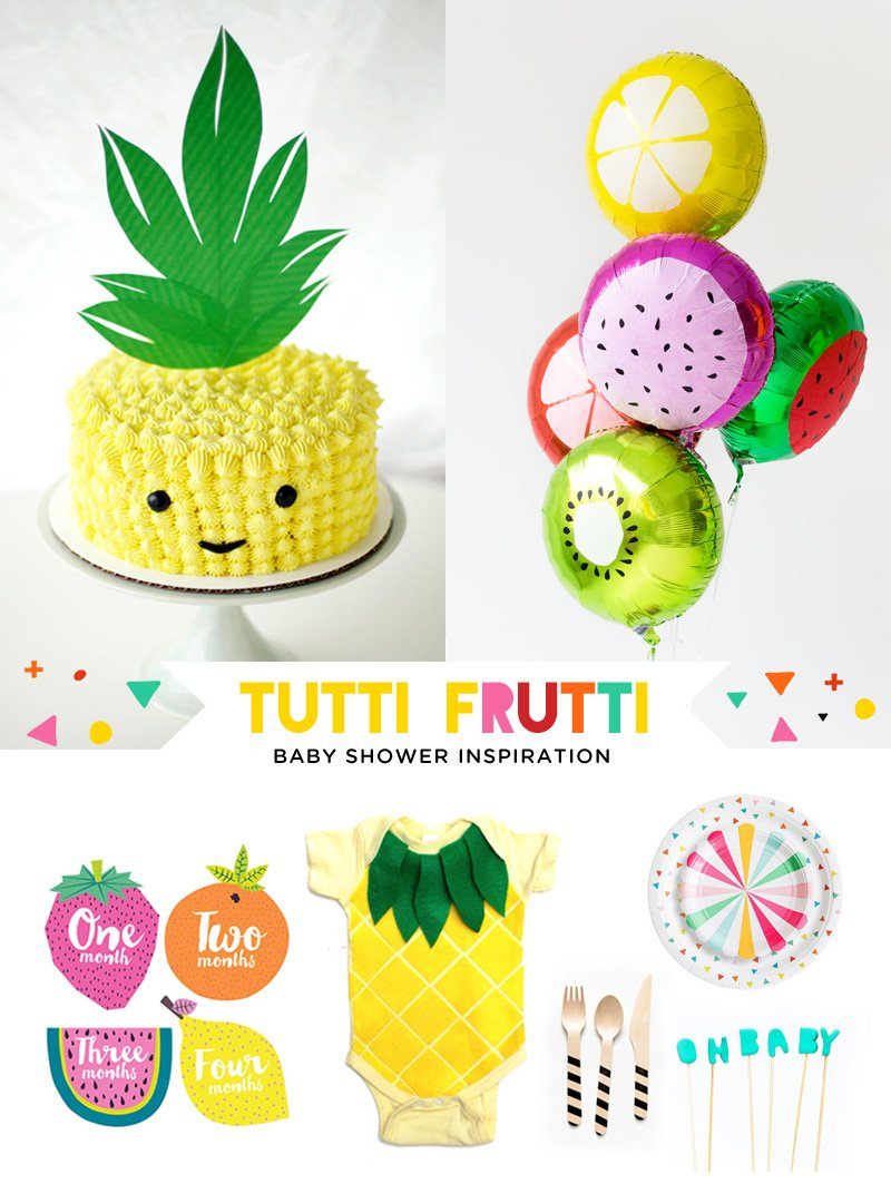 Tutti Fruitti Baby Shower Ideas 1
