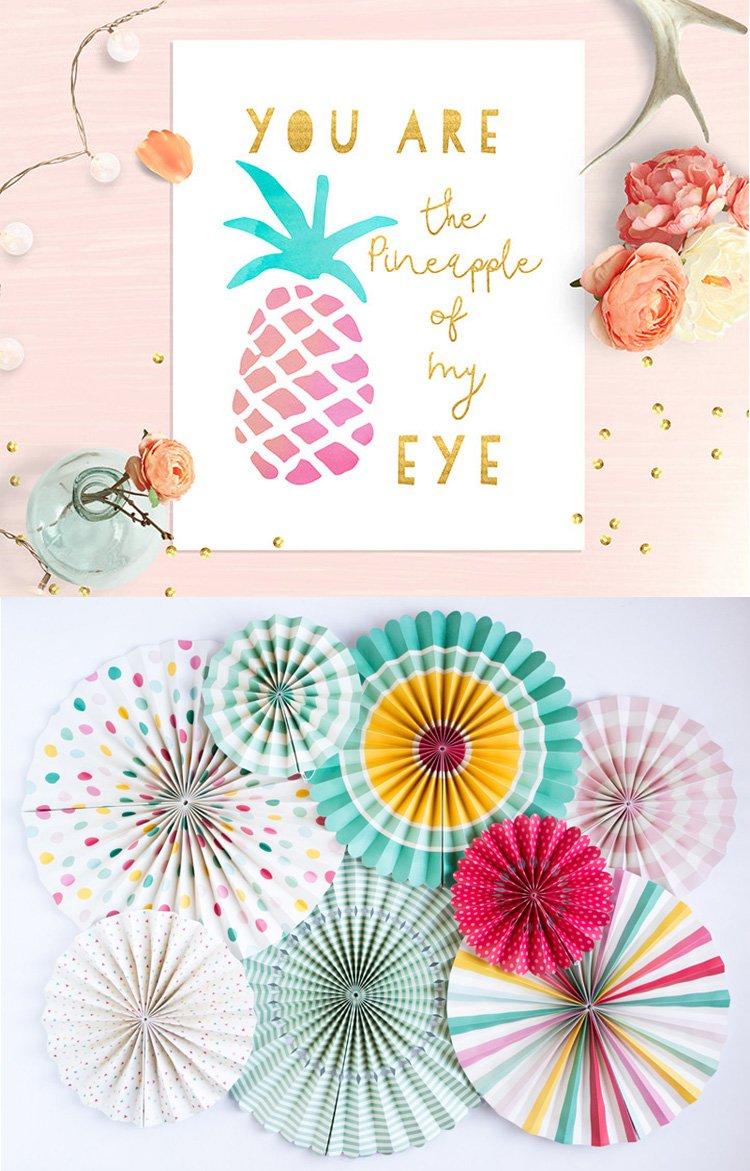 You are the pineapple of my eye - nursery printable