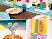Mother's Day Brunch Table Ideas and Free Printables