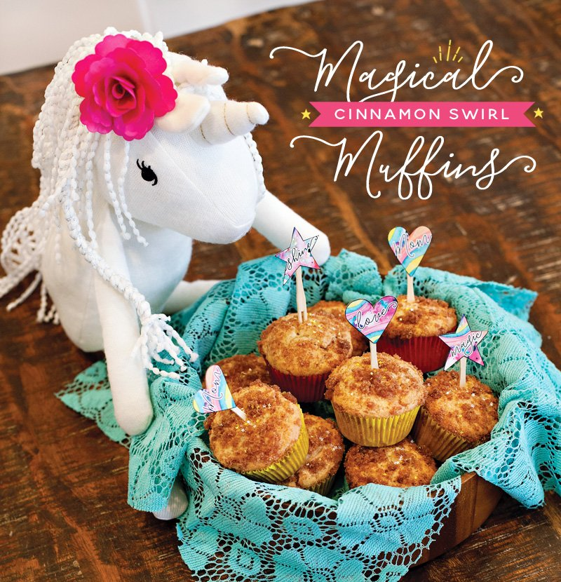 Magic Muffins for Mother's Day + Unicorn Plush