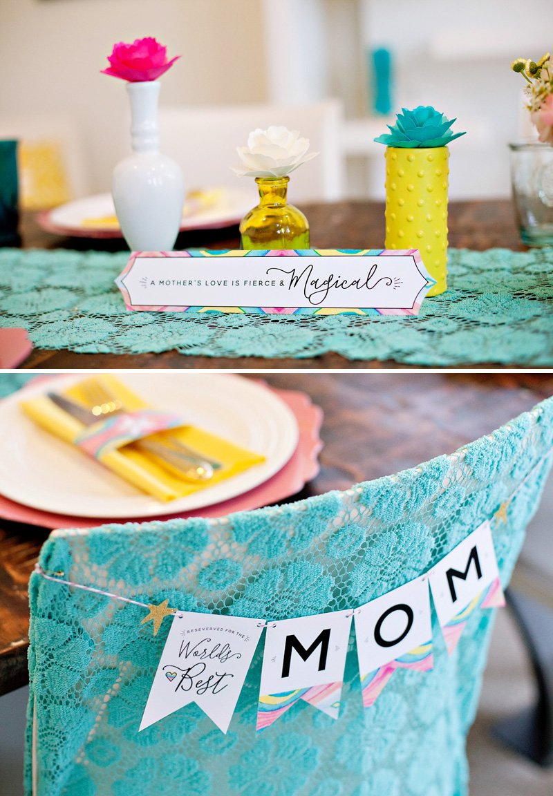 Mother's Day Tablescape Ideas