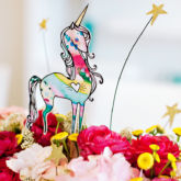 Watercolor Unicorn Printable Decoration from HWTM