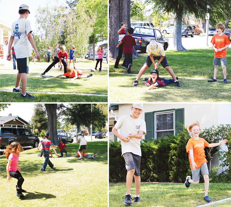 kids birthday party outdoor games
