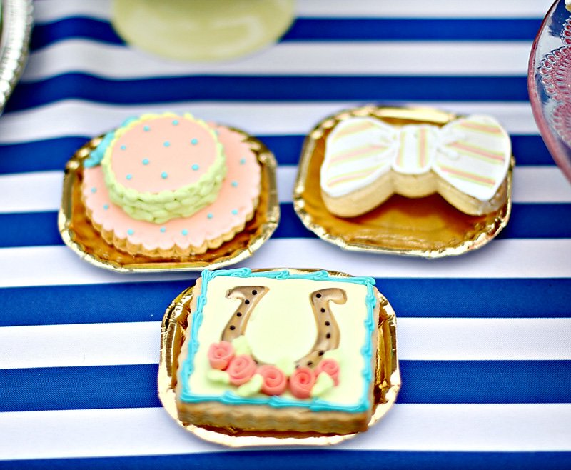 Kentucky Derby Sugar Cookies - Hats, Horseshoes, and Bowties