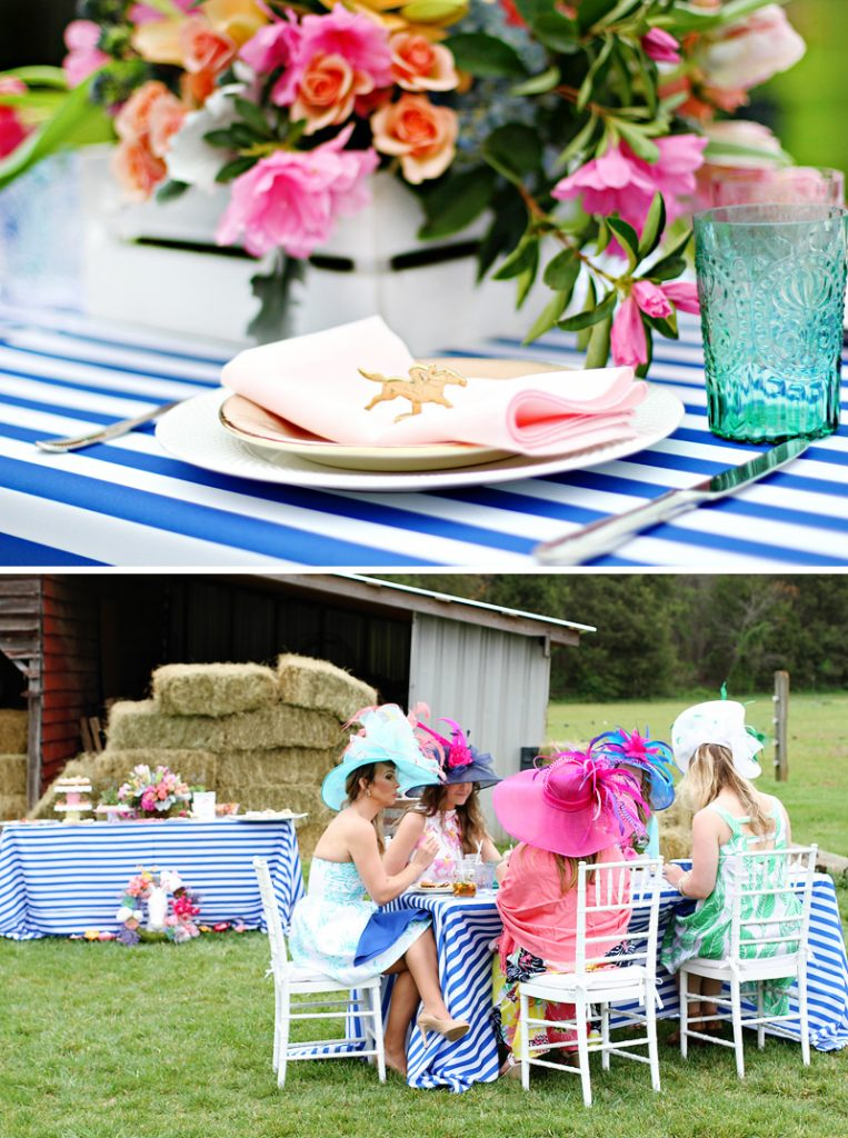 Kentucky Derby Place Settings and Party
