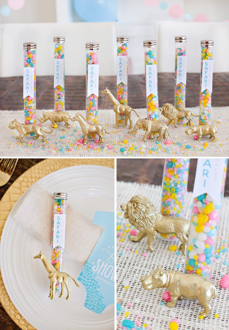 Safari Party Favors - Candyfetti Safari Sprinkles