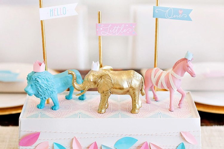 Royal Safari Baby Shower + The Incredible Styling Power of PAPER (with examples)