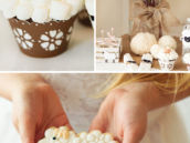 DIY marshmallow topped lamb cupcakes