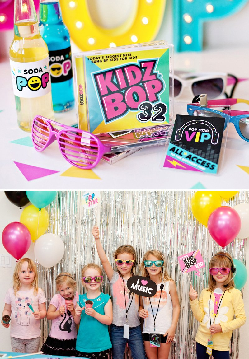 How to Throw the Ultimate POP STAR Party Ideas Activities Free