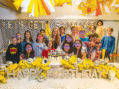 banana themed teen birthday party