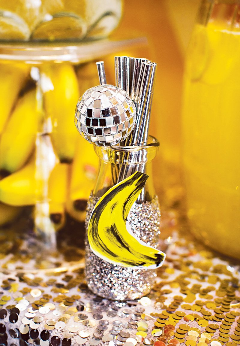 disco ball straws