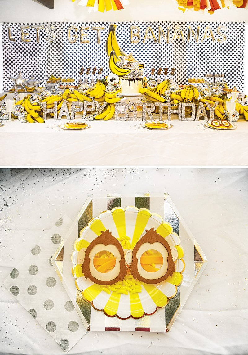 monkey party glasses