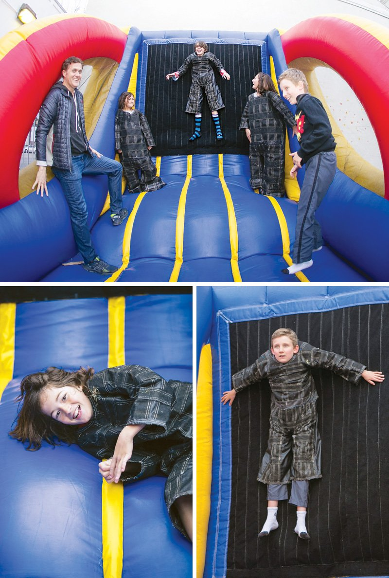 velcro wall jump house