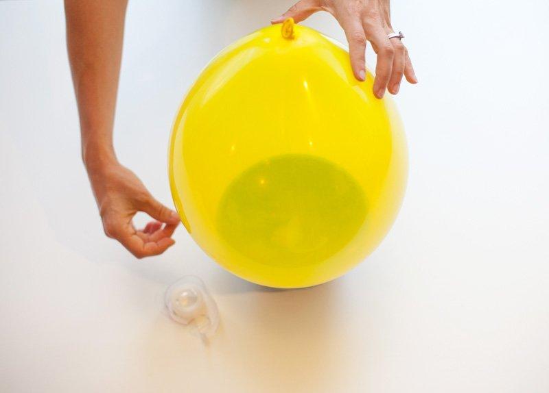 Bumble Bee Balloon Tutorial - Step 1