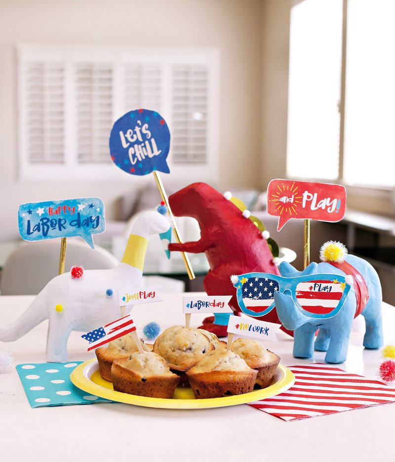 "Crafty & Creative Labor Day Ideas for ""Kids"" of All Ages + Free Printables"