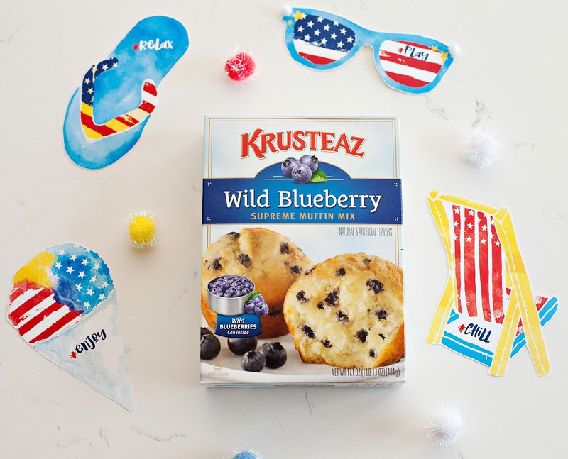 patriotic printables from HWTM and Krusteaz