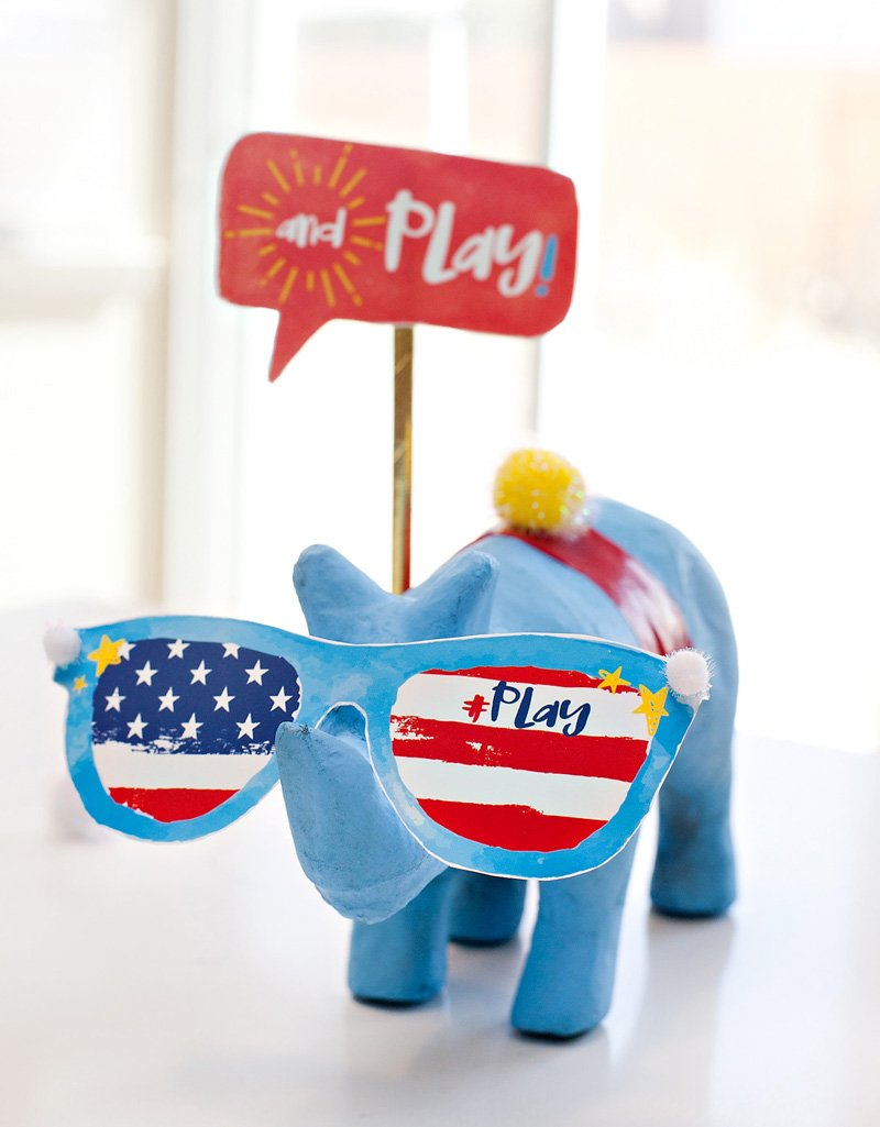 silly and fun patriotic decorations