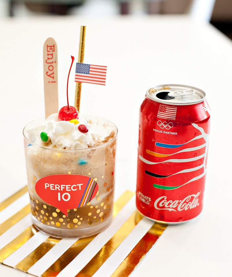 Perfect 10 Coke Float