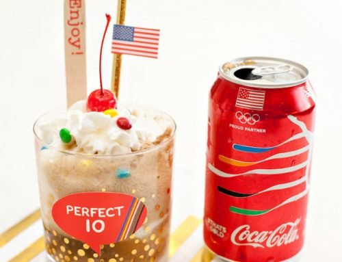 Olympic Games Home Viewing Party Drinks + #ThatsGold Coca-Cola Giveaway