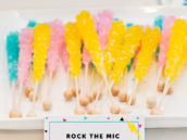 Pop Star Candy Microphones