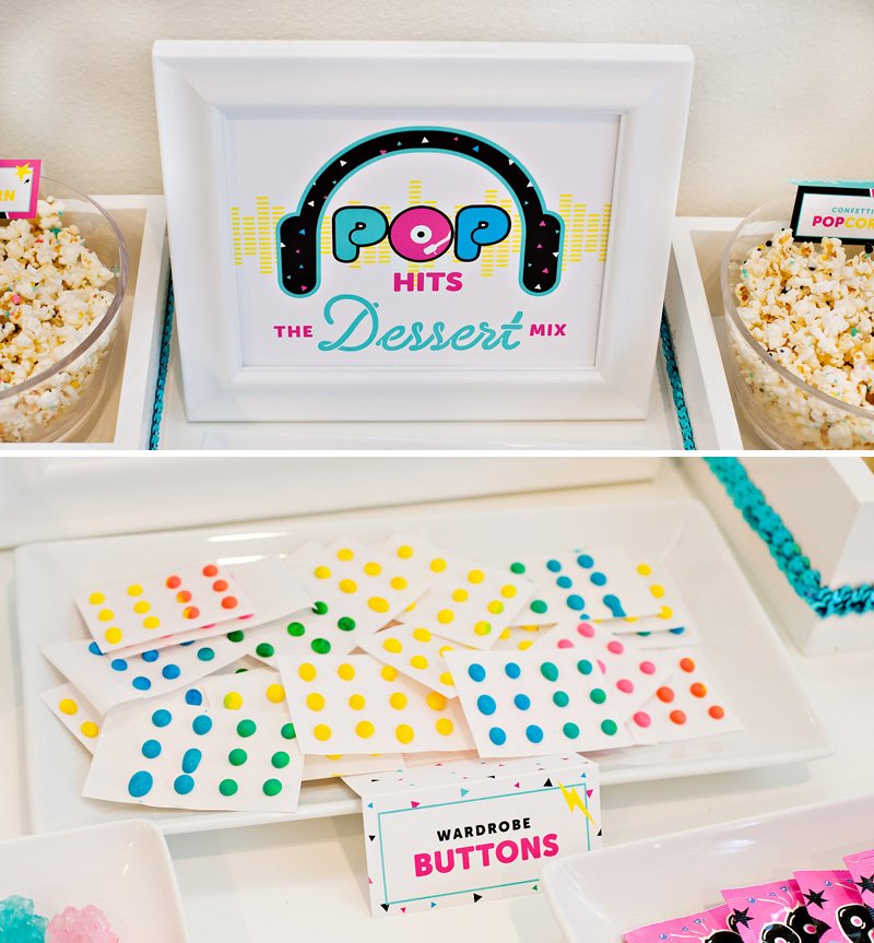 Candy Dot Wardrobe Buttons