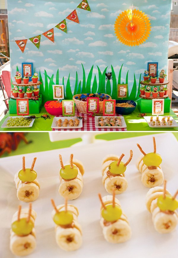 Bug Tastic Joint Birthday Bug Party Hostess With The