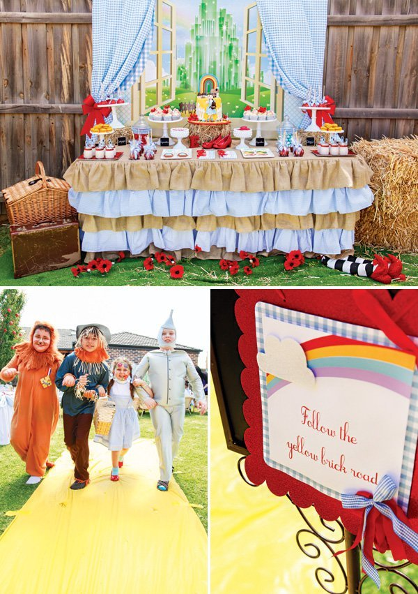 Incredibly Magical Wizard Of Oz Birthday Party Hostess With The