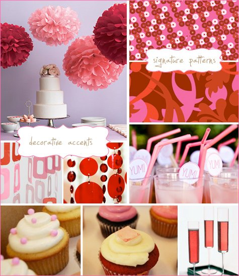 Berry sweet shower theme inspiration board party ideas for Baby shower decoration blog