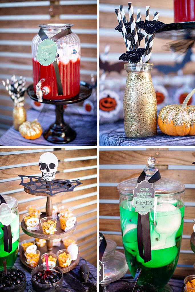 Halloween birthday party treats for kids