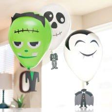 Halloween Balloons Tutorial - Frankenstein, Skeleton, Vampire