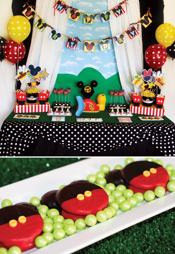 Mickey Mouse Clubhouse Birthday Party Hostess With The MostessR