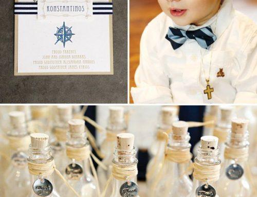 Elegant Nautical Christening & First Birthday Party