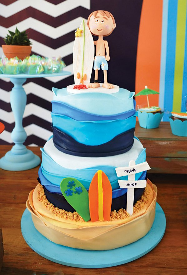Bright Amp Beachy Surfing Birthday Party Hostess With The
