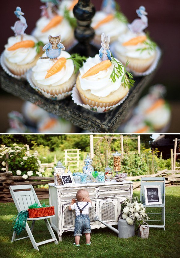 Gorgeous Peter Rabbit First Birthday Garden Party
